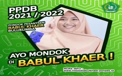 TWIBBON PPDB 2021 PESANTREN BABUL KHAER