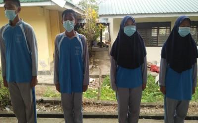 4 Santri Pondok Pesantren Babul Khaer Lolos Seleksi Anggota Paskibra Tingkat Kabupaten Bulukumba